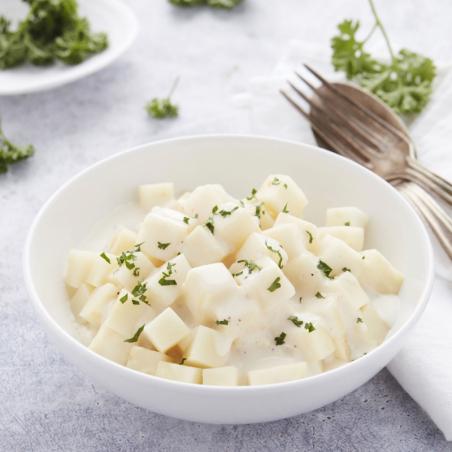 Aardappelpuree met hoeveboter